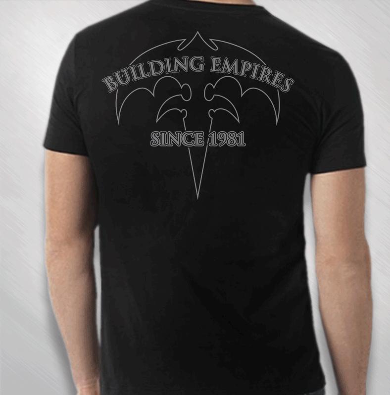 478d27929a3 QUEENSRYCHE - Queensryche - Men s Building Empires Tee  QRY1957B ...
