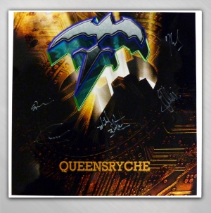 QUEENSRYCHE - Queensryche - Q2K Signed Poster [QRY4983B ...  QUEENSRYCHE - Q...