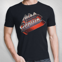Atlas Genius - Men's Black Retro Logo Tee