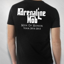 Adrenaline Mob - Men's Black