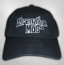 Adrenaline Mob - Black Embroidered Logo Cap