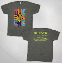 The Big One NYE 2015 Event Tee