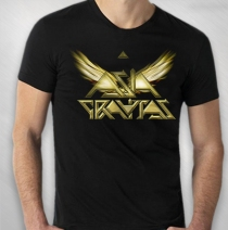 Asia - Men's Black Gravitas Logo 2014 Tour Tee