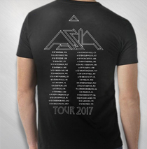 Asia - 2017 Men's 35th Anniversary Logo Tour Tee