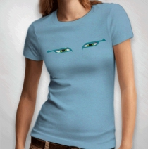 Asia - Women's Blue Eyes Tee