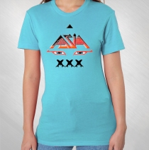 Asia - Women's Blue Eyes XXX Tee