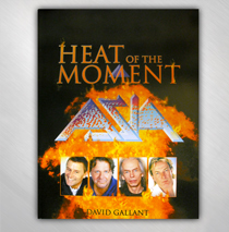 Asia - Heat Of The Moment Book