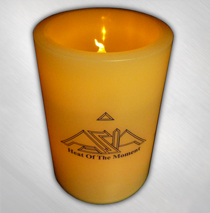 Asia - Heat Of The Moment Candle