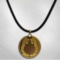 "Barry Dennen ""Pilate"" Pendant with Leather Cord"
