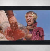 "Barry Dennen - ""I Wash My Hands"" Signed 8x10"