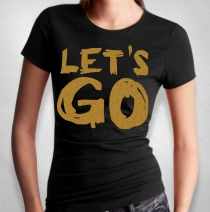 Bean - Let's Go Junior's Tee