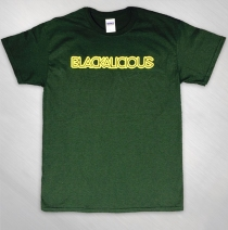 Blackalicious - Mens Forest Green Logo Tee