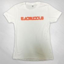 Blackalicious - Girls White Logo Tee