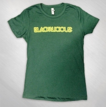 Blackalicious - Girls Forest Green Logo Tee