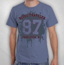 Blues Traveler - 2014 Men's Blue Splatter Tour Tee