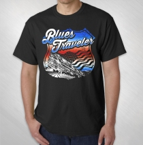 Blues Traveler - Red Rocks 2015 4th of July Event Tee