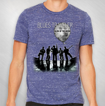 Blues Traveler - BUTM Marble Navy Tour Tee
