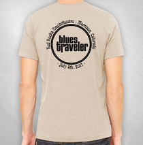 Blues Traveler - Men's 2017 Red Rocks Event Tee