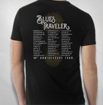 Blues Traveler - Men's Starburst 30th Anniversary Tour Tee