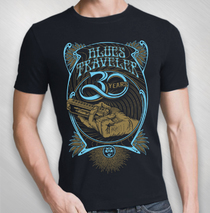 Blues Traveler - 2017 Men's 30th Anniversary Harmonica Tour Tee