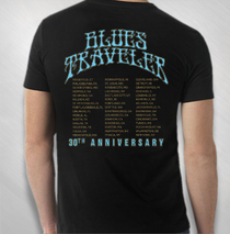 Blues Traveler - Men's 30th Anniversary Harmonica Tee