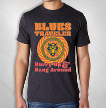 Blues Traveler - 2019 Men's Hurry Up Tour Tee ( Summer '19 )