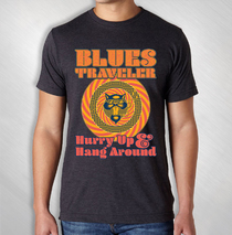 Blues Traveler - 2018 Men's Hurry Up Tour Tee ( Fall '18 )