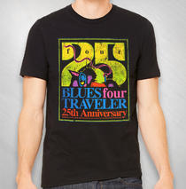 "Blues Traveler - 2019 Men's ""FOUR"" 25th Ann. Tee"