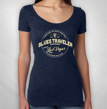 Blues Traveler - Women's Las Vegas Event Tee