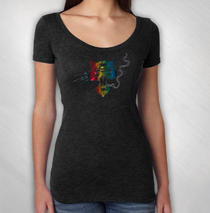 Blues Traveler - Women's Foil Cat Tee