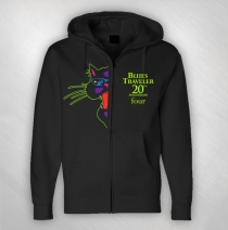 Blues Traveler - Men's 20th Anniversary Zip Hoodie