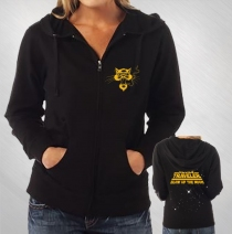 Blues Traveler - Women's Long Ago Zip Hoodie
