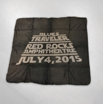 Blues Traveler - Red Rocks 4th of July Event Fleece Blanket