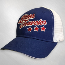 Blues Traveler - R, W & B Embroidered Baseball Cap