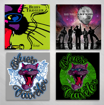 Blues Traveler - Four piece Sticker Set