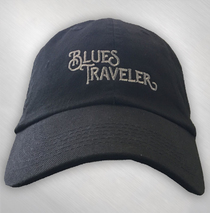 Blues Traveler - Embroidered Text Logo
