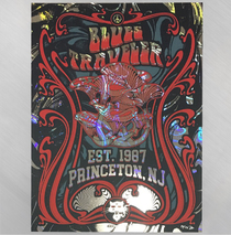 Blues Traveler -  Est.1987 Princeton , NJ Foil Poster