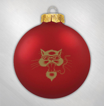 Blues Traveler -  Red Cat Ornament