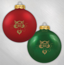 Blues Traveler -  Cat Ornament Set