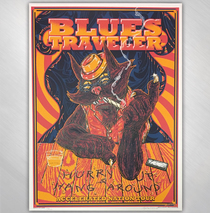 Blues Traveler - Accelerated Nation Tour Poster