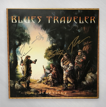 Blues Traveler - Travelers & Thieves Signed Double LP