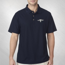Blues Traveler - Men's Embroidered Logo Polo