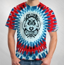 Blues Traveler - Men's Classic Logo Tie-Dye