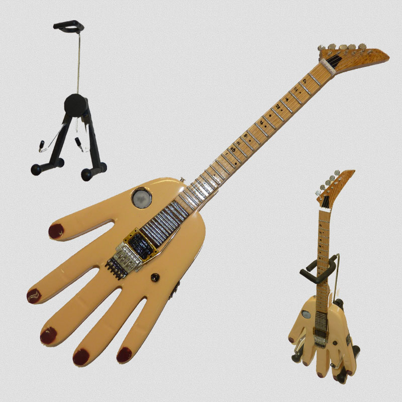 "Bumblefoot - ""Big Hand""  Mini Guitar Replica"