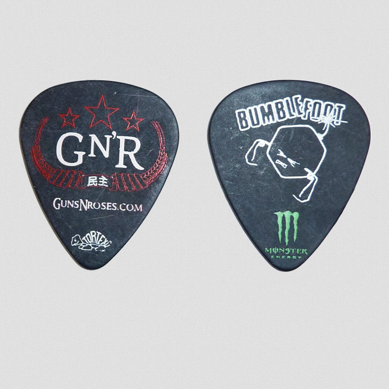 "Bumblefoot - ""Abnormal"" Guitar Pick"