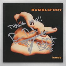 "Bumblefoot - CD ""Hands"" - Autographed"