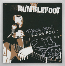 Bumblefoot - EP ''Barefoot'' - Autographed