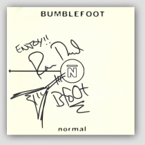 Bumblefoot - CD ''Normal'' - Autographed