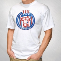 Blues Traveler - Men's Uncle Sam Cat Logo Tee