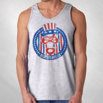 Blues Traveler - Men's Uncle Sam Cat Logo Tank Top